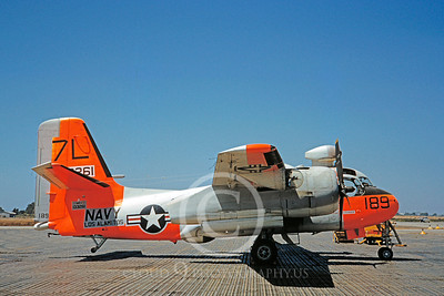 DG 00090 Grumman S2F-1 Tracker US Navy 133261 Los Alamitos October 1960 by Clay Jansson