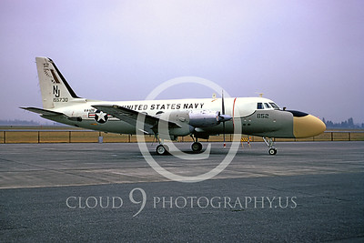 TC-4C-USN 00001 Grumman TC-4C US Navy VA-128 Aug 1973 by Peter B Lewis