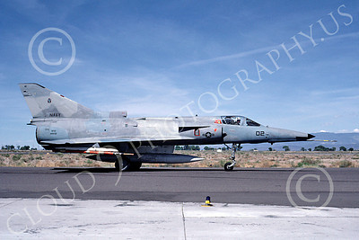 F-21USN 00001 Israeli Kifir F-21A US Navy 999732 VF-43 USNavy May 1987 by Michael Grove, Sr