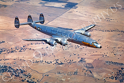 C-121USN 00002 Lockheed C-121 Constellation US Navy Military Air Transport Service Official Lockheed Aircraft Photograph produced by Peter J Mancus
