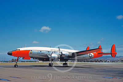 DG 00117 Lockheed C-121 Constellation US Navy 131643 April 1961 by Clay Jansson
