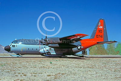 C-130USN 00009 Lockheed LC-130R Hercules US Navy 0741 VXE-6 XD 3 April 1984 by Charles E Stewart