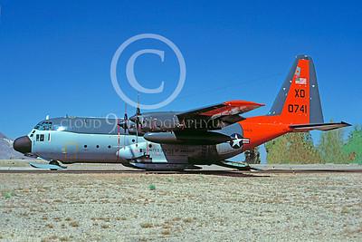 C-130USN 00009 Lockheed LC-130R Hercules US Navy 0741 VXE-6 XD 3 April 1984 by Charles E Stewart