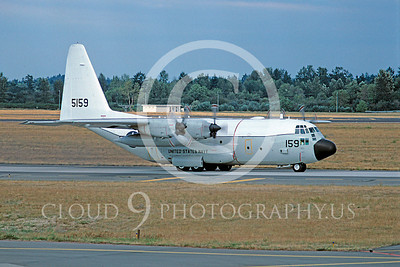 C-130USN 00011 Lockheed C-130 Hercules US Navy 5159 12 August 1994 by Renato E F Jones via African Aviation Slide Service