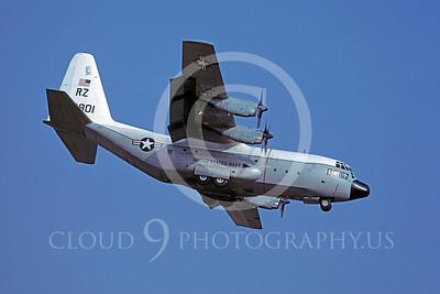 C-130USN 00002 Lockheed C-130 Hercules US Navy 149801 VR-21 28 February 1977 by Masumi Wada