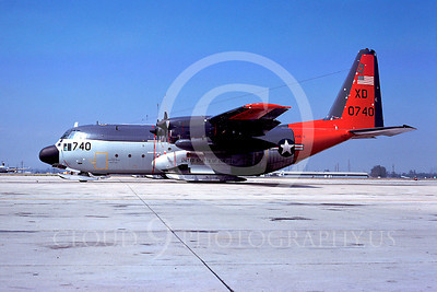 C-130USN 00007 Lockheed LC-130R Hercules US Navy 0740 VXE-6 XD NAS Pt Mugu May 1977 by Peter J Mancus