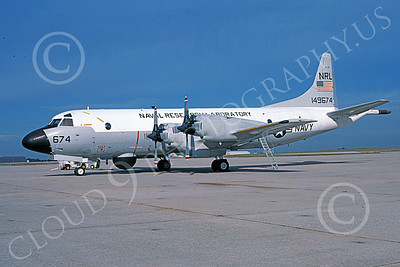 EP-3USN 00009 A static Lockheed EP-3D Aries USN 149674 NRL NAVAL RESEARCH LABATORY NAS Pax River 10-1996 military airplane picture by Michael Grove, Sr