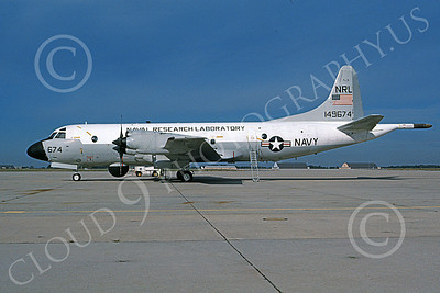EP-3USN 00007 A static Lockheed EP-3D Aries USN 149674 NRL NAVAL RESEARCH LABATORY NAS Pax River 10-1996 military airplane picture by Michael Grove, Sr