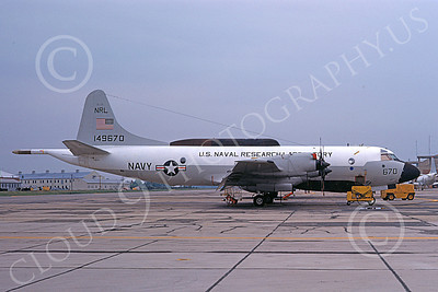 EP-3USN 00005  A static Lockheed EP-3B Aries USN 149670 US NAVAL RESEARCH LABATORY NAS Pax River 5-1975 military airplane picture by David Ostrowski