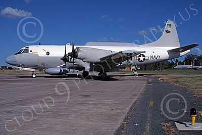 EP-3USN 00047 A static Lockheed EP-3E Aries II USN PR code 7-1994 military airplane picture by Michael Grove, Sr