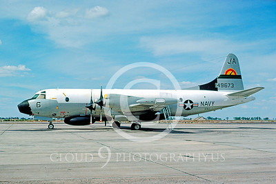 EP-3 00001 Lockheed EP-3A Orion USN VX-1 Fallon 10 May 1976 by Michael Grove, Sr
