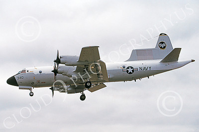 EP-3USN 00002 A landing Lockheed EP-3 Orion USN 150522 9-2004 military airplane picture by Michael Grove, Sr