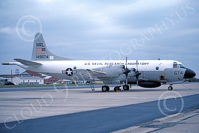 EP-3USN 00011 A static Lockheed EP-3A Aries USN 149674 NRL US NAVAL RESEARCH LABATORY NAS Pax River 4-1983 military airplane picture by Stephen H Miller