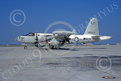 P-2USN 00061 A static Lockheed SP-2H Neptune USN 145907 VP-66 THE LIBERTY BELLS 10-1972 military airplane picture by Michael Grove, Sr