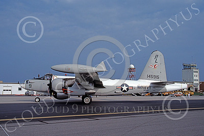 P-2USN 00063 A taxing Lockheed SP-2H Neptune USN 145915 VP-67 9-1985, by Michael Grove, Sr JPG