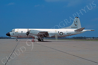 P-3USN 00005 Lockheed P-3C Orion USN 158924 VP-5 Westover 29 August 1976 by Bob Rys