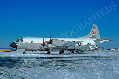 P-3USN 00003 Lockheed P-3A Orion USN 150506 VP-66 Willow-Grove 21 February 1976 by Ron Harrison