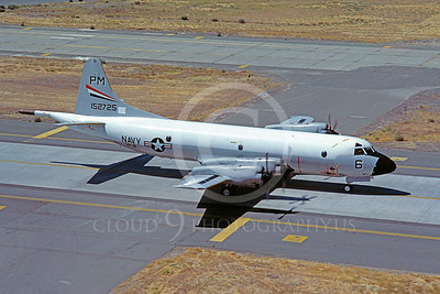 P-3USN 00007 Lockheed P-3 Orion USN 152725 VP-91 August 1981 McClellan AFB by Carl E Porter