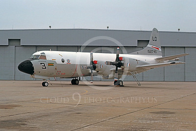P-3USN 00009 Lockheed P-3 Orion USN 152745 December 1978 by Ron McNeil
