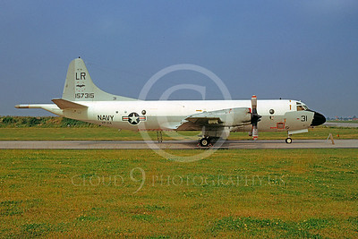 P-3USN 00013 Lockheed P-3 Orion USN 157315 VP-24 25 June 1972 by Volkert von den Berg