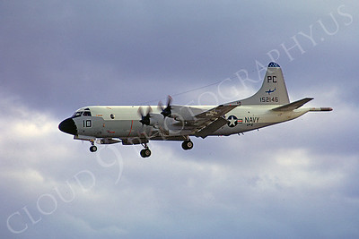 P-3USN 00002 Lockheed P-3 Orion USN 152146 VP-6 8 November 1993 by Peter J Mancus