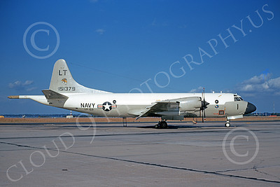 P-3USN 00067 A static Lockheed P-3 Orion USN 151379 VP-62 BROAD ARROWS 12-1971 military airplane picture by Clay Jansson