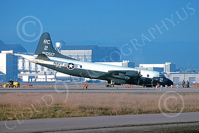 P-3USN 00057 A static Lockheed P-3 Orion USN 150515 VP-46 GRAY KNIGHTS mishap 2-1964 military airplane picture by Clay Jansson