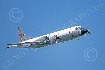 P-3USN 00066 A flying Lockheed P-3A Orion USN 150517 VP-66 THE LIBERTY BELLS 4-1980 military airplane picture by Barry E Roop