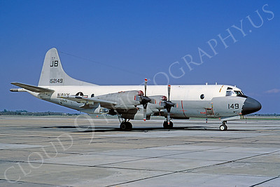 P-3USN 00001 Lockheed P-3 Orion USN 152149 VXN-8 27 April 1972 by Peter J Mancus