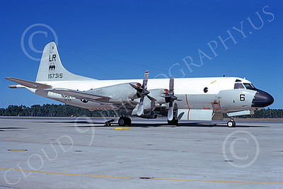 P-3USN 00053 A static Lockheed P-3 Orion USN 157315 VP-24 BATMEN 12-1975, by L B Sides