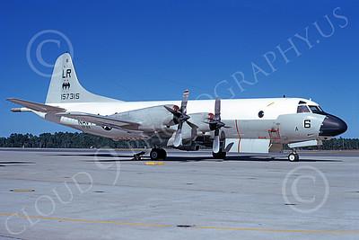 P-3USN 00053 A static Lockheed P-3 Orion USN 157315 VP-24 BATMEN 12-1975, by L B Sides