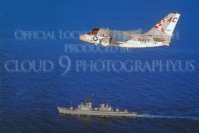 S-3 00008 Lockheed S-3 Viking USN 9410 VS-22 USS Saratoga via Lockheed Aircraft Company