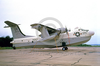 P5MUSN 00011 A static Martin P5M Marlin seaplane USN VP-40 MARLINS NAS North Island 4-1980 military airplane picture by Clay Jansson