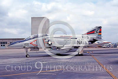 CAG 00006 McDonnell Douglas F-4 Phantom II VF-154 May 1977 Miramar by Peter J Mancus
