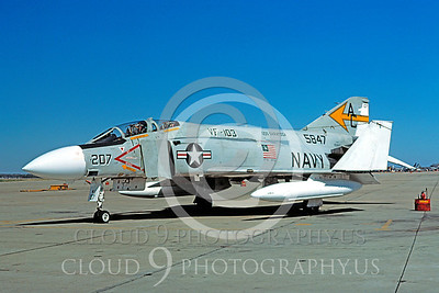 BICEN-F-4 00013 McDonnell Douglas F-4 Phantom II VF-103 NAS Oceana 31 July 1976 by David Ostrowski