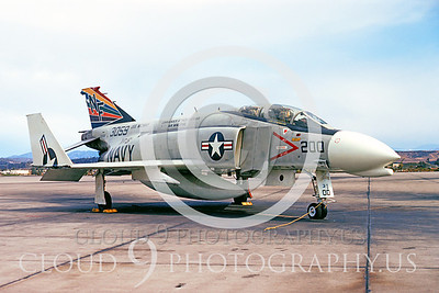 CAG 00003 McDonnell Douglas F-4 Phantom II VF-51 Dec 1971 Miramar by Peter J Mancus