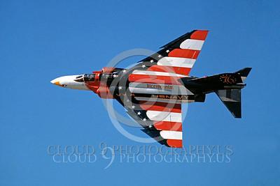 BICEN-F-4 00028 McDonnell Douglas F-4 Phantom II USN VX-4 Nov 1977 by Peter J Mancus