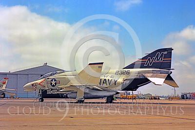 CAG 00012 McDonnell Douglas F-4 Phantom II VF-51 by Peter J Mancus