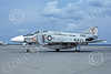 F-4USN 00829 A static McDonnell Douglas F-4J Phantom II 153900 US Navy VF-102 DIAMONDBACKS commanding officer's plane USS Independence NAS Oceana 5-1976 military airplane picture by Michael Grove, Sr
