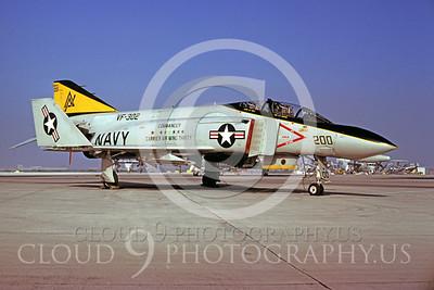CAG 00004 McDonnell Douglas F-4 Phantom II VF-302 by Peter J Mancus