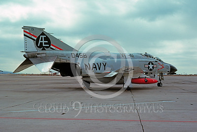 BICEN-F-4 00027 McDonnell Douglas F-4 Phantom II USN VF-41 NAS Miramar 10 Nov 1975 by Peter B Lewis