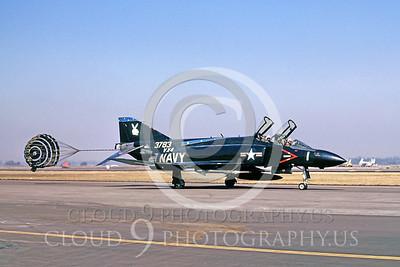 CHUTE 00002 McDonnell Douglas F-4 Phantom II USN VX-4 by Peter J Mancus