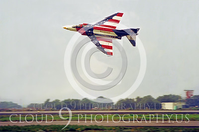 BICEN-F-4 00010 McDonnell Douglas F-4 Phantom II VX-4 USN by Peter J Mancus