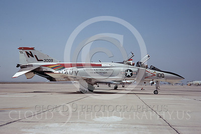 CAG 00027 McDonnell Douglas F4J VF-51 9 April 1971 by Clay Jansson