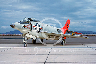 F3HDemonUSN 00009 McDonnell F3H-2 Demon VF-121 Dec 1991 Miramar by D W Carter