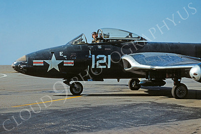 CUNMJ 00063 McDonnell FD Phantom US Navy 23 March 1956 by William T Larkins