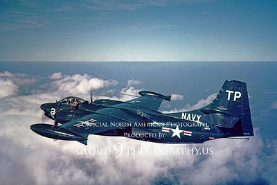 AJ-2P 00002 North American AJ-2P Savage via North American Aircraft Company produced by Peter J Mancus