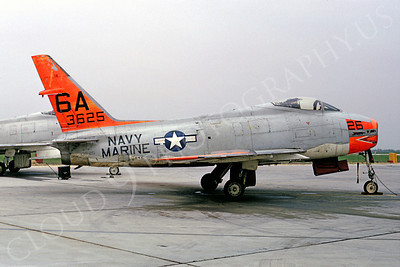 DG 00039 North Americian AF-1E Fury US Navy Marine Corps 43625 6A Andrews AFB by Frank MacSorley