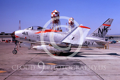 FJ-2USN 00003 North American FJ-2 Fury VA-144 by Clay Jansson