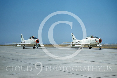 FJ-4USN 00009 North American FJ-4 Fury by William T Larkins
